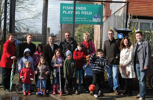 Fishponds playing field campaign