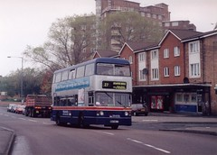 TWM Fleetline 6967 at Duddeston (WDA4T) Tags: birmingham daimler leyland fleetline wmt