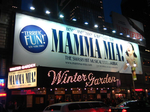Mamma Mia! at Winter Garden