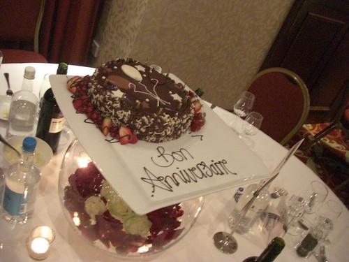 Ribérys Geburtstagstorte