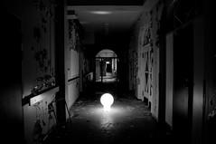 Light in the old corridor (karl.b) Tags: bw abandoned nikon urbanexploration abandonedbuildings d5000 nikond5000 brobysanatorium broby100410