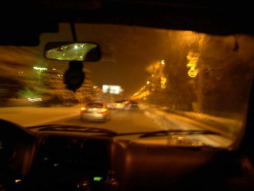 Almaty at night ©  upyernoz
