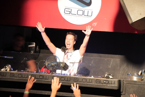 Sander van Doorn smiling with excitement