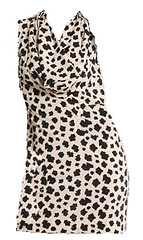 dalmation dress, clothesline, fashion blog