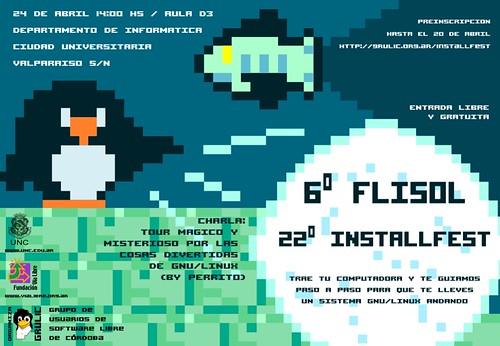 Difusion Installfest 22 / FliSol 2010