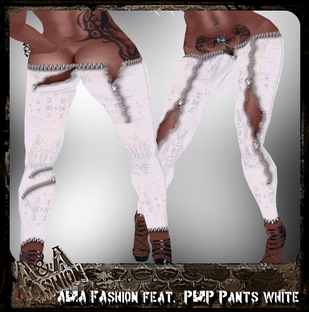 A&A FAshion feat. P&P Pants white