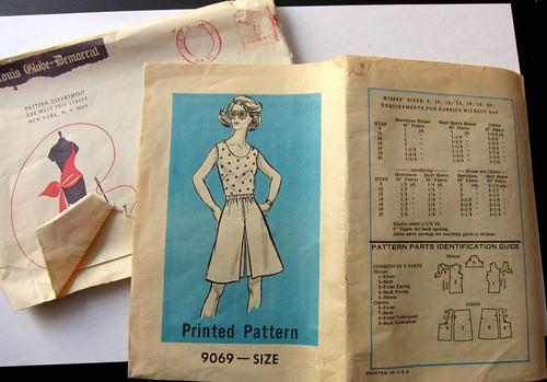 Vintage Mail Order Pattern 9069