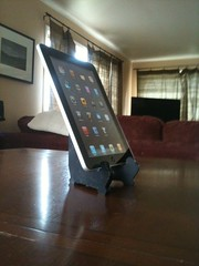 Fancy new ipad holder (Rick Takagi) Tags: apple stand picture frame cheap holder ipad