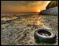 Rockley Park Sunset 10 (Photogriffo) Tags: park sunset sea pentax harbour hdr poole rockley pooleharbour k10d pentaxk10d rockleypark