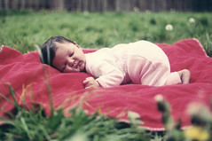 saturday something: sleepybebeh (jon madison) Tags: family sleeping people baby grass outside daughter blanket top20flickrkids jovie dsc3800 jonmadisoncom
