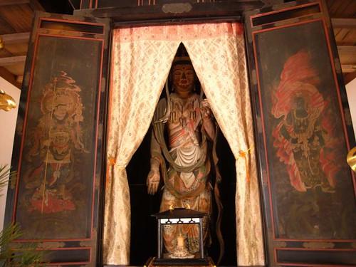 日本最古の虚空蔵菩薩像のお寺『額安寺』@大和郡山市