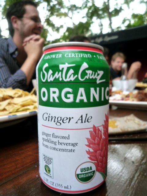 Santa Cruz organic ginger ale