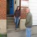 Rhonda Hale and Ed Dollinger at Dialog Gallery