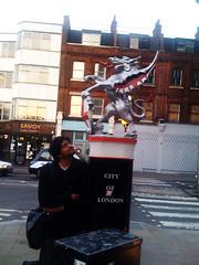 Prad & Griffin (vintagedept) Tags: history emblem savoy griffin kool cityoflondon awil prad somewhereinlondon heritagekey semidragon