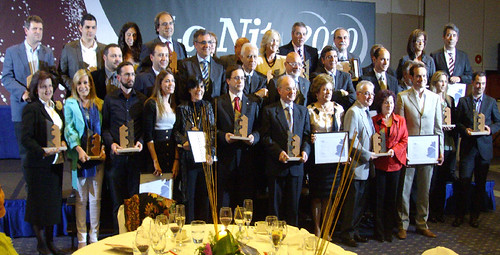 Winners of ADEG prizes - nit dEmpresa - 2010