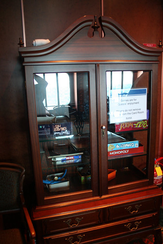 Carnival Spirit - One of Three Game Cabinets