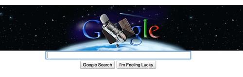 Google Hubble Telescope Doodle