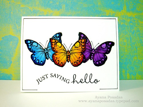 Copic Butterflies (1)