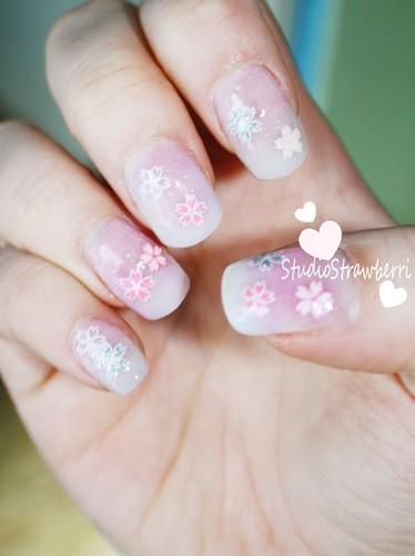 Sakura nails (2010)