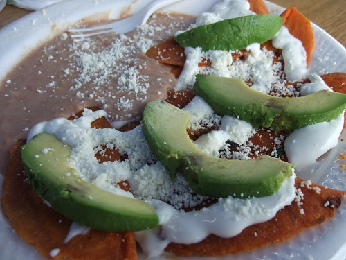 Enchiladas Potosinas from Los Potosinos