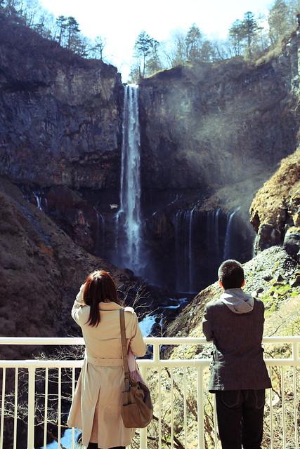 観瀑台の眺望