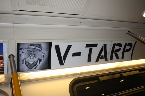 V-TARP The Vancouver Transit Adspace Re-appropriation Project - Installation 25 - The Promo - Vegas & jerm IX