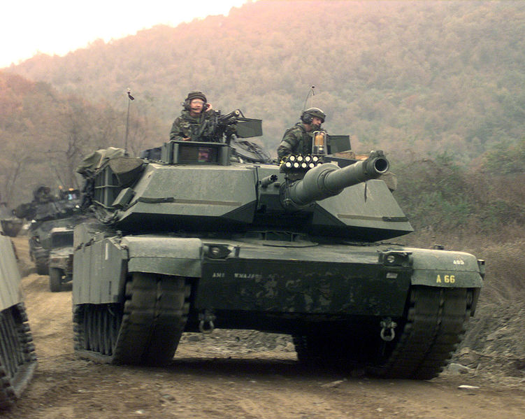 abrams tank pictures. Awarded Abrams Tank STS