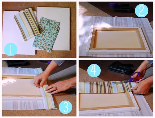 Fabric Wall Art {1-4}