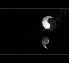 Light and Dark (Fairy_Nuff (piczology.com)) Tags: light canon dark eos star torch yang 7d yin maglite dualism macromondays