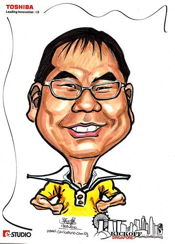 Caricature of Kimura