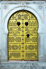 The wonderful doors of Tunisia 2 (M. Khatib) Tags: tunisia tunis