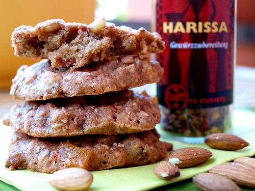 Rote Beete-Cookies mit Harissa