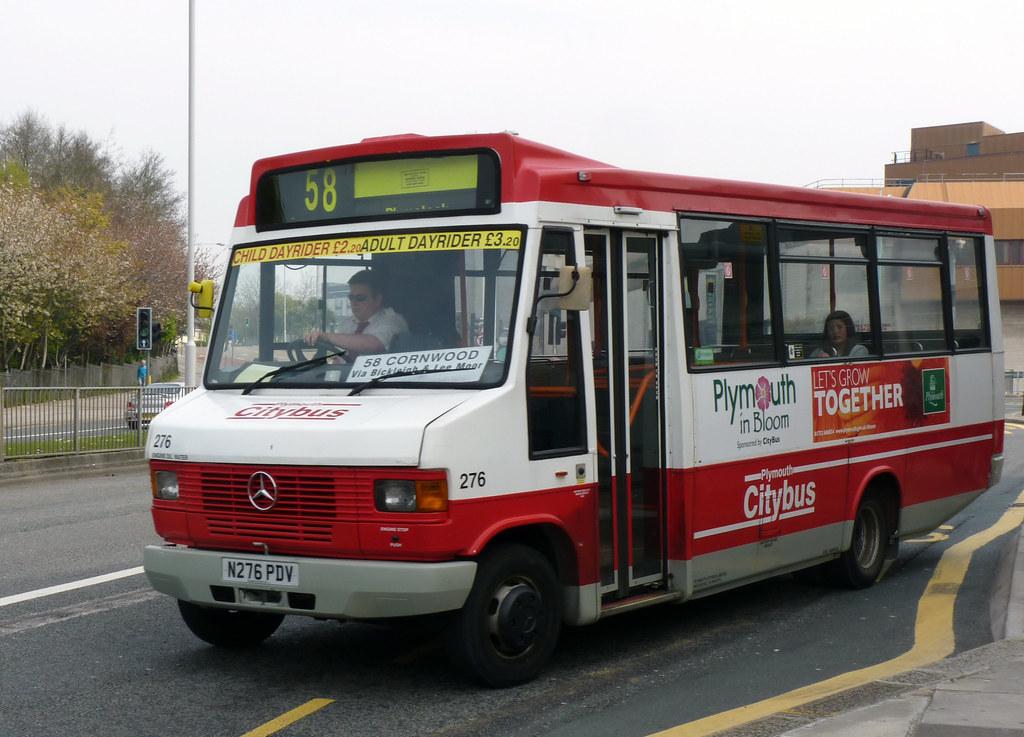 Plymouth Citybus 276 N276PDV