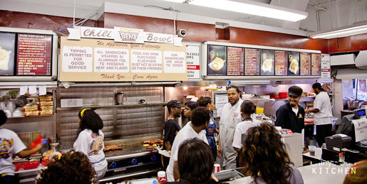 Ben's Chili bowl counter