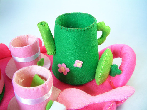 felt food pattern,toys,tea time,etsy,fairyfox