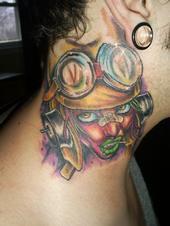 tank girl (shaundaily) Tags: color girl neck tank tattoos taylor aron bomber