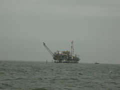 Gulf of Mexico oil rig