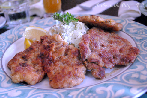 Pork Wiener Schnitzel, with potato Salad RM38