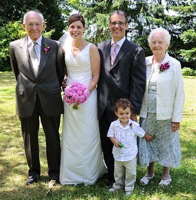 Nan Grumps wedding