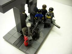 Wyvern down! (Saint_Zvlkx) Tags: modern lego custom warfare brickarms