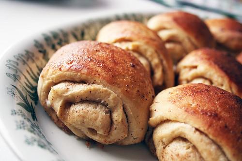 Cinnamon buns ready