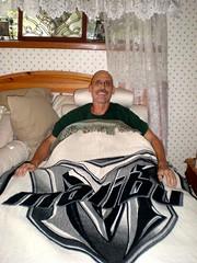Malibu Blanket Winner Turns Giver