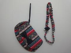 Conjuntinho 106 (Dona.Flor) Tags: zipper bolsa colar donaflor colorida listrada conjuntinho bolsademo dabia