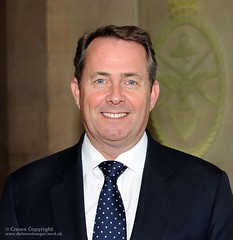 The Secretary of State for Defence Dr Liam Fox MP
