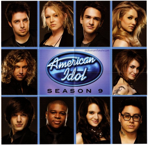 American Idol 9 CD Album Mini poster