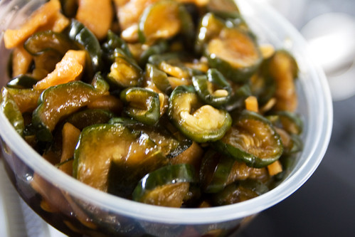 sweet pickled cucumber