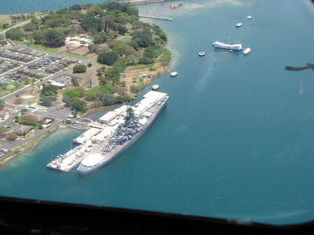 USS Missouri + USS Arizona Memorial