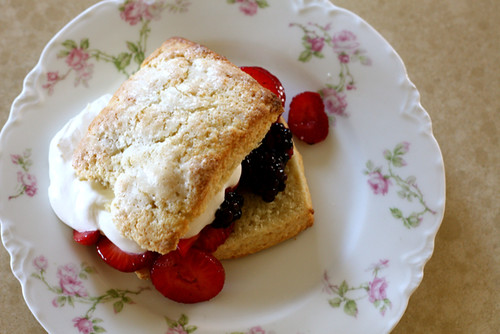 Strawberry Blackberry Shortcakes