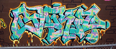 Bare (Joe Kane) Tags: nyc graffiti tv bare gable deth kult dklt