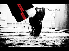 Black or White (6/7) (Anant N S (www.thelensor.tumblr.com)) Tags: red white selfportrait black dance bonn king mj michaeljackson kingofpop blackorwhite project7 shoestand